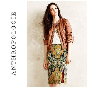 Anthropologie Maeve Tapestry Skirt